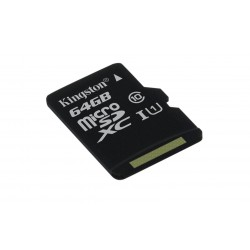 64GB microSDXC Kingston UHS-I U1 45R/10W bez adap.