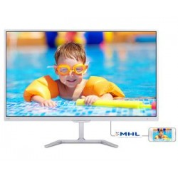 "27"" LED Philips 276E7QDSW - FHD,PLS,HDMI,MHL,biely"